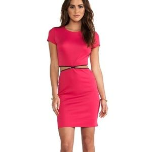 Bailey44 Zip Convertible Pink Dress